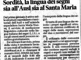 Mediazione LIS ASL Reggio Emilia